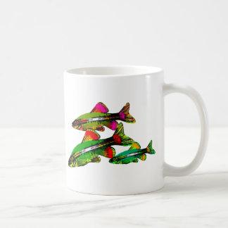 Neon Tetra Triplets Coffee Mug