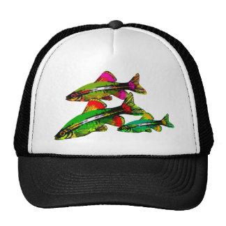 Neon Tetra Triplets Trucker Hat