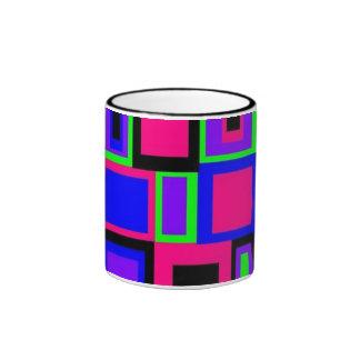 Neon Tile mug