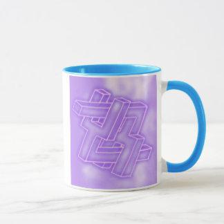 Neon Too Wise mug
