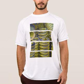 Neon Train Spring Design T-Shirt