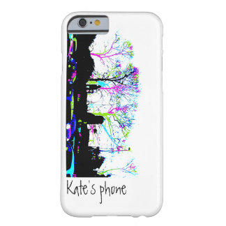 Neon Trees Urban Skyline customise your name Barely There iPhone 6 Case