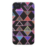 Neon Triangles Pattern iPhone 4/4S Case-Mate iPhone 4 Cases