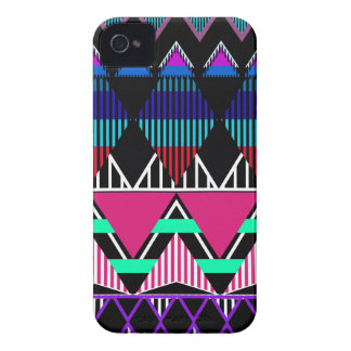 Neon Tribal 2 inspired iPhone 4/4S Case-Mate Case iPhone 4 Cover
