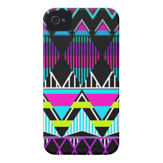 Neon Tribal inspired Case-Mate iPhone 4 Case