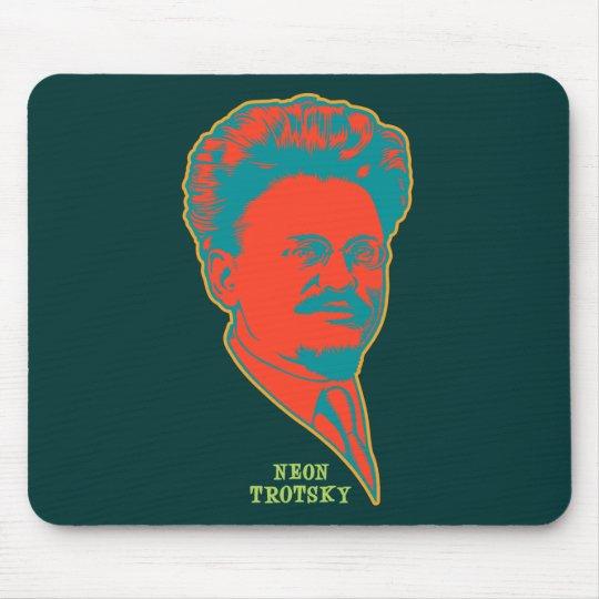 Neon Trotsky Mouse Pad