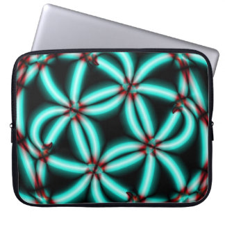 Neon Tubes Laptop Sleeve