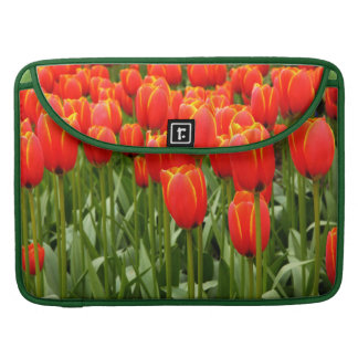 Neon Tulips Sleeve For MacBooks