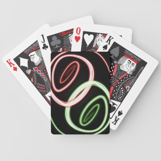 Neon Twist Bicycle Playing Cards