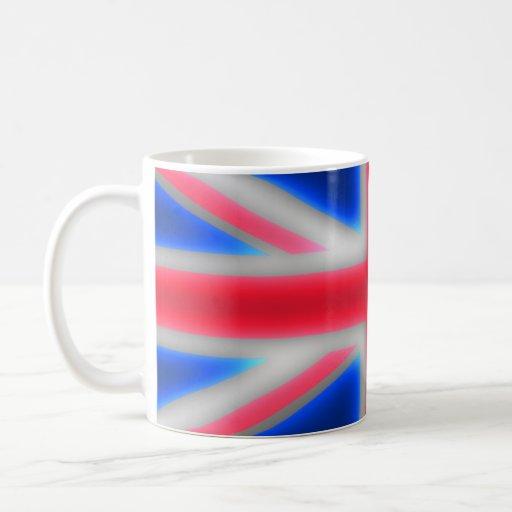 Neon Union Jack Mug