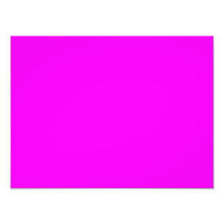 Neon Violet Purple Light Bright Fashion Color Photo Print