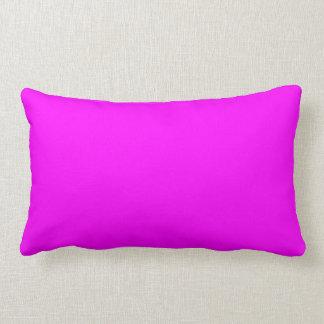 Neon Violet Purple Light Bright Fashion Color Throw Pillows
