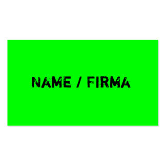 Neon - visiting cards Double-Sided standard business cards (Pack of 100)