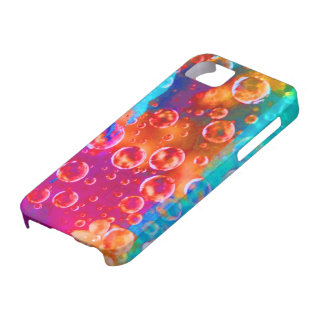 """""""Neon water droplets"""" IPhone 5 case"""