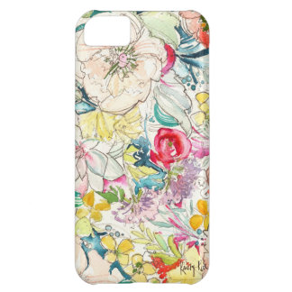 Neon Watercolor Flower iPhone Case iPhone 5C Covers