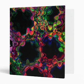 Neon Waves Binder
