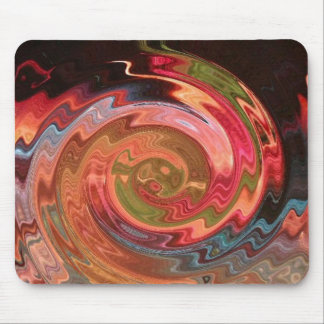neon whirlpool mouse pad