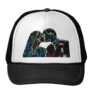 Neon Will and Kate Trucker Hat
