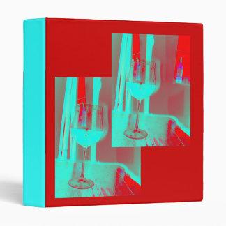 Neon Wine Glass Binder