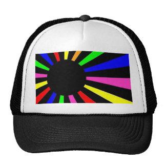 Neon World Flag Hats
