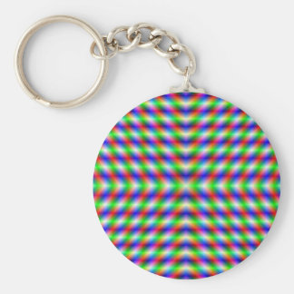 Neon X Key Chain