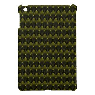 Neon Yellow Alien Invasion iPad Mini Cover