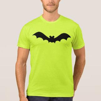 Neon Yellow Black Bat Solid Symbol Tee