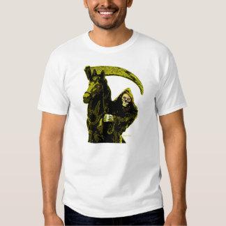 Neon Yellow Grim Reaper Horseman Series by Valpyra Shirt