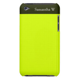 Neon Yellow, High Visibility iPod Touch Case-Mate Case
