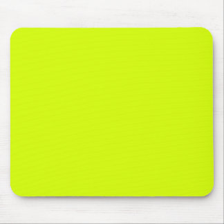 Neon Yellow, High Visibility Mouse Pad