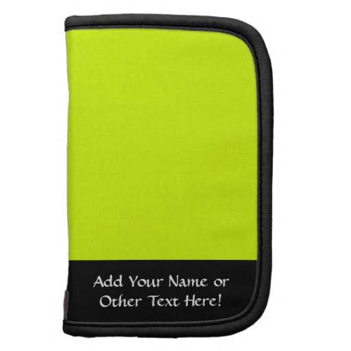 Neon Yellow, High Visibility Planners
