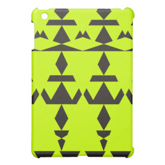 Neon Yellow Minimal Tribal iPad Mini Case