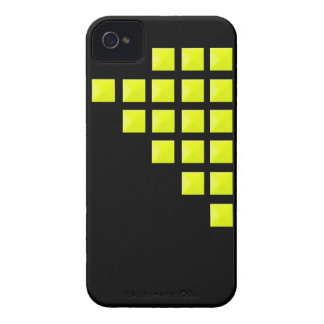 Neon Yellow Pyramid Studs Case-Mate iPhone 4 Case