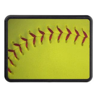 Neon Yellow Softball Hitch Cover