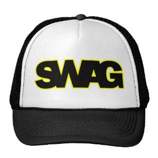 Neon Yellow SWAG Mesh Hats