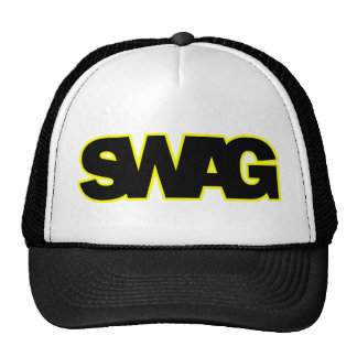 Neon Yellow SWAG Trucker Hat