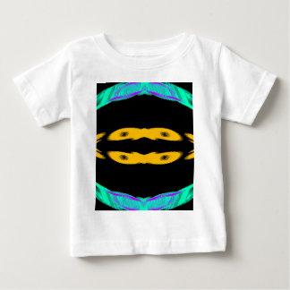 Neon Yellow & Turquoise Lights CricketDiane Baby T-Shirt