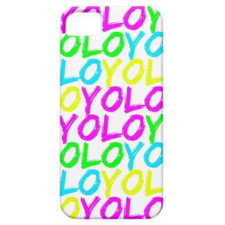 Neon YOLO Phone Case