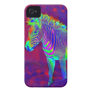 neon zebra i-phonecase iPhone 4 covers
