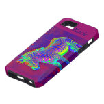neon zebra iphone  personalizable iPhone SE/5/5s case