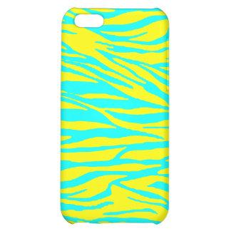 Neon Zebra Print iPhone 5C Case