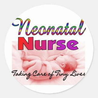 Neonatal/NICU  Nurse Gifts Classic Round Sticker