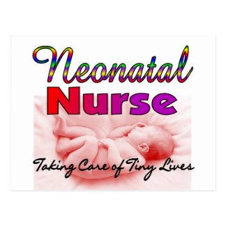 Neonatal NICU Nurse Gifts Postcards