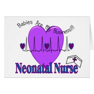 Neonatal Nurse Gift Ideas--Unique Designs Card