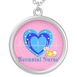 Neonatal Nurse Sterling Silver Necklace