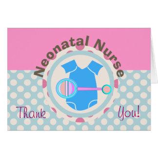 Neonatal Nurse Thank You Card