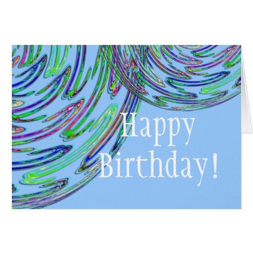 NEONS Happy Birthday! Greeting Card