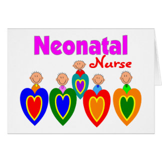 Neontal Nurse--Adorable Baby Graphics Greeting Cards