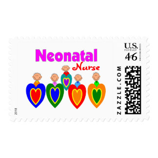 Neontal Nurse--Adorable Baby Graphics Stamp