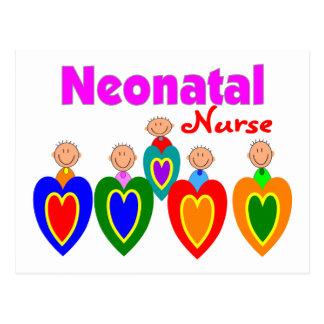 Neontal Nurse--Adorable Baby Graphics Postcard